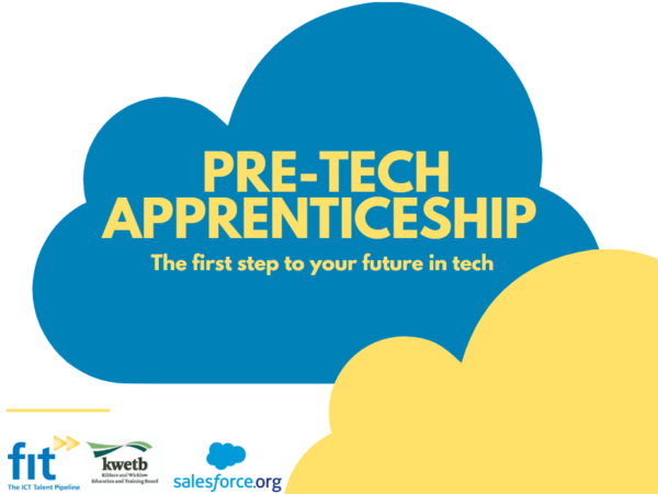 FIT announce partnership with Salesforce.org to develop new Pre-Tech Apprenticeship Programmes
