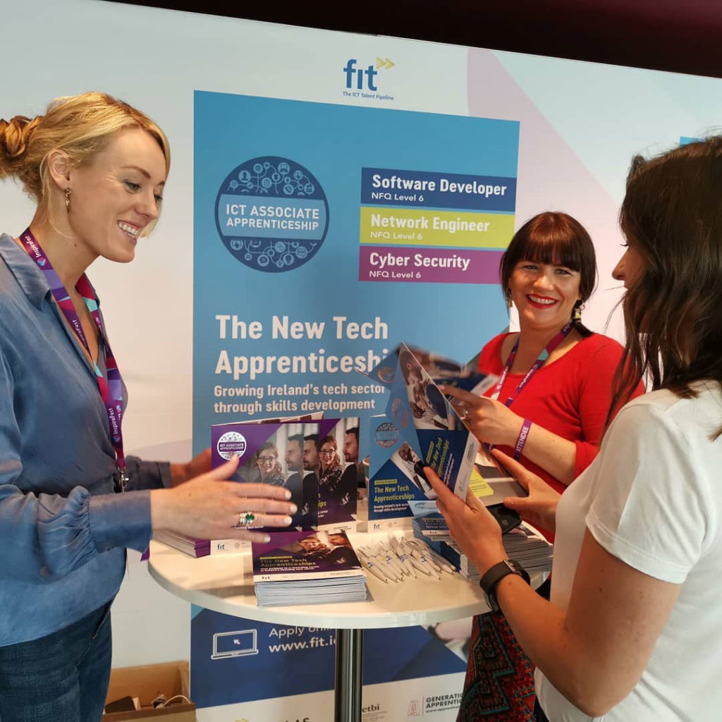 FIT stand at Inspire Fest