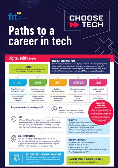 choose tech roadmap visual